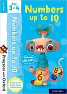 Progress with Oxf: Numbers up to 10. Age 3-4